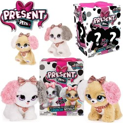 Present Pets: Interaktív meglepetés kutyus - rózsaszín 6051197