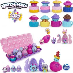 Hatchimals: Cosmic Candy, 12 darabos figura szett tojástartóban 6056401