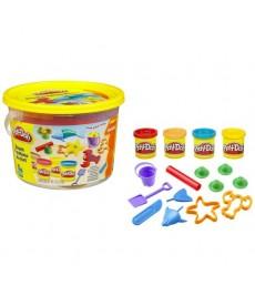 PLAY-DOH MINI BUCKET BEACH 123414