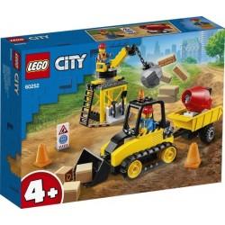 LEGO® City - Great Vehicles Építőipari buldózer 60252