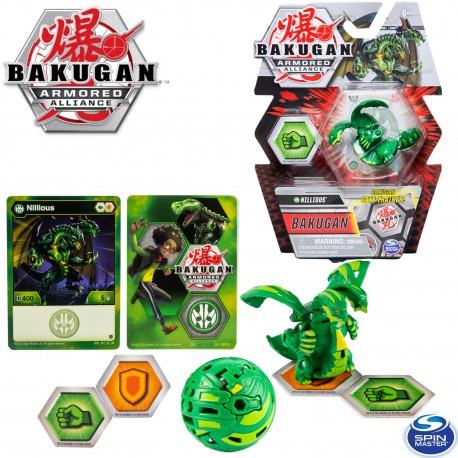 Bakugan S2 Páncélozott szövetség: Nillious alap labda 20124098