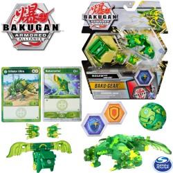 Bakugan S2 Páncélozott szövetség: Bakugan golyó harci felszereléssel Gillator Ultra + Baku-Gear 6055887