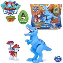 Spin Master Mancs őrjárat Dino Rescue: Marshall figura velociraptor dinoszaurusszal 6058512