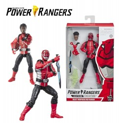 Power Rangers vilagito figura - RED DEFENDER /E5906/E5933