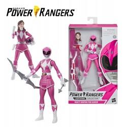 Power Rangers vilagito figura - PINK DEFENDER /E5906/E5935