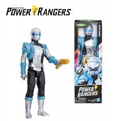 Power Rangers - 25 cm-es figura - SILVER RANGER /E5914/E6203