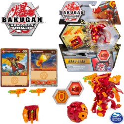 Bakugan S2 Páncélozott szövetség: Bakugan golyó harci felszereléssel Dragonoid Ultra + Baku Gear 6055887