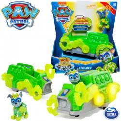 Spin Master Mancs őrjárat: Mighty Pups Charged Up járművek - Rocky 6055753