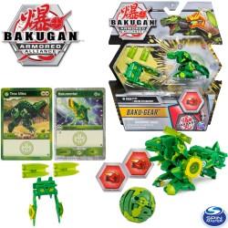 Bakugan S2 Páncélozott szövetség: Bakugan golyó harci felszereléssel Trox Ultra + Ventus Cyclonator 6055887