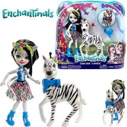 Enchantimals baba zebrával - Zelena Zebra és Hoofette FKY72