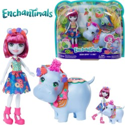 Enchantimals: Hedda Hippo and Lake Hippo FKY72