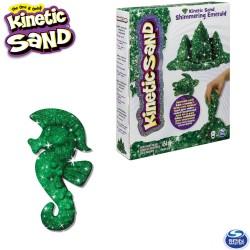 Kinetikus homok csillámló smaragd színű 454 gramm 6026420