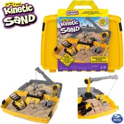 Spin Master Kinetic Sand: Építkezés homokgyurma szett 6044143