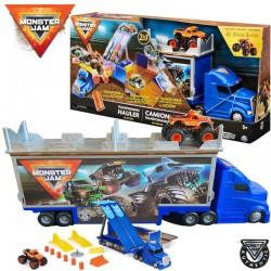 Spin Master Monster Jam: El Toro Loco átalakuló autószállító kamion 1:64 (6058258)
