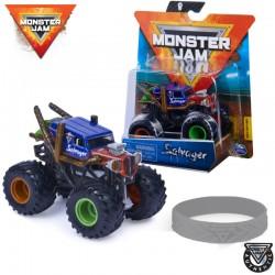 Spin Master Monster Jam: Salvager kisautó szilikon karkötővel 6044941
