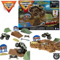 Spin Master Monster Jam: Soldier Fortune Kinetic Sand homokgyurmával 6044986
