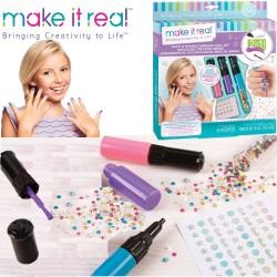 Make It Real Szépség: Sellő körömművészet