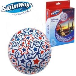 SwimWays Felfújható világító strandlabda 6038071