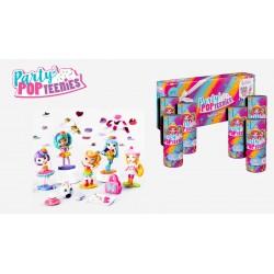 Spin Master Party Pop Teenies: 6 darab meglepetés Popper 6045464