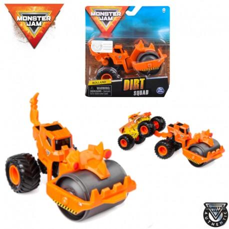 Spin Master Monster Jam: Dirt Squad munkagépek - Rolland 6055226