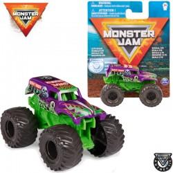 Spin Master Monster Jam: Grave Digger (lila-zöld) kisautó 1/70 (6047123)