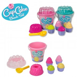 Cupcake Muffin 8 Részes Homokozó Szett Kétféle Változatban