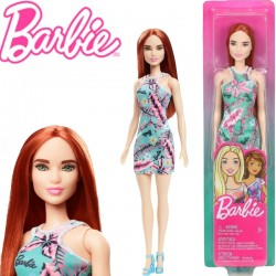 Barbie: Vörös hajú baba mini ruhában GBK92