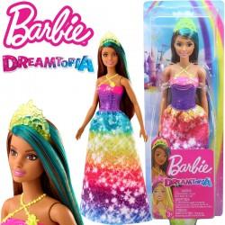 Barbie Dreamtopia: Hercegnő baba zöld koronával GJK12