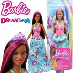 Barbie Dreamtopia: Hercegnő baba lila koronával GJK12