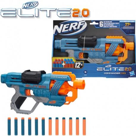 Nerf: Elite 2.0 Commander RD-6 szivacslövő fegyver E9485