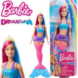 Barbie Dreamtopia: Sellő baba sárga koronával GJK07