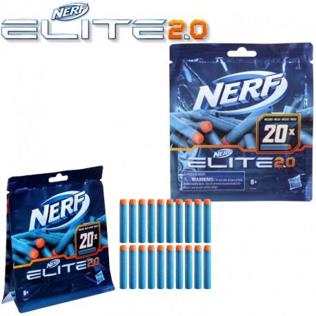 Nerf: Elite 2.0 szivacslövedék utántöltő 20db-os F0040