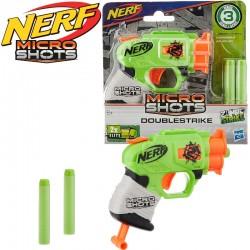 Nerf: MicroShots ZombieStrike Doublestrike szivacslövő fegyver E0489