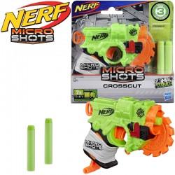 Nerf: MicroShots ZombieStrike Crosscut szivacslövő fegyver E0489