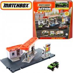 Matchbox: Benzinkút Játékszett GVY82