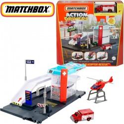 Matchbox: Mentőhelikopter állomás GVY82