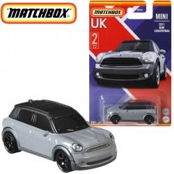 Matchbox: Egyesült Királyság kollekció - 2011 Mini Countryman kisautó 1/64 (GWL22)