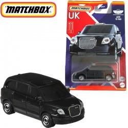 Matchbox: Egyesült Királyság kollekció - Levc TX Taxi kisautó 1/64 (GWL22)