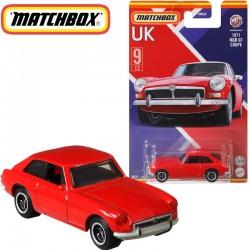 Matchbox: Egyesült Királyság kollekció - 1971 MGB GT Coupe kisautó 1/64 (GWL22)