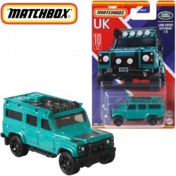 Matchbox: Egyesült Királyság kollekció - Land Rover Defender 110 kisautó 1/64 (GWL22)