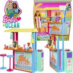 Barbie Együtt a Földért: Tengerparti koktélbár játékszett újrahasznosított műanyagból GYG23