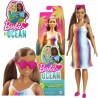 Barbie: 50. évfordulos Malibu baba csíkos ruhában GRB35