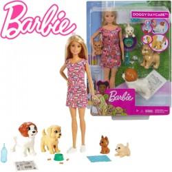 Barbie: kutyusos napközi játékszett FXH08