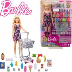 Barbie: Nagybevásárlás Játékszett GTK94