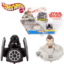 Hot Wheels Star Wars: Battle Rollers Rey és TIE vadász gördülő harcosok FJF01