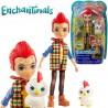 Enchantimals: Redward Rooster és Cluck figura FNH22