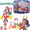 Enchantimals: Bicajbarátok játékszett FJH11