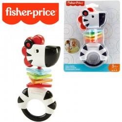 Fisher-Price: Esőerdős csörgők - Zebra FGJ54