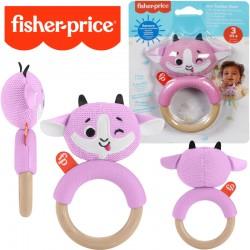Fisher-Price: Állatpajtás csörgős rágóka- Kecske GWW52