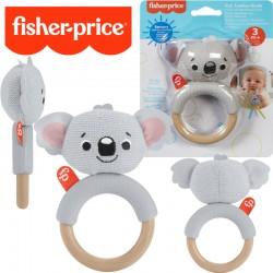 Fisher-Price: Állatpajtás csörgős rágóka- Koala GWW52